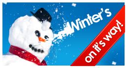 Winter's on it's way!
