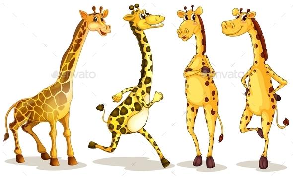 GraphicRiver Giraffes 10013242