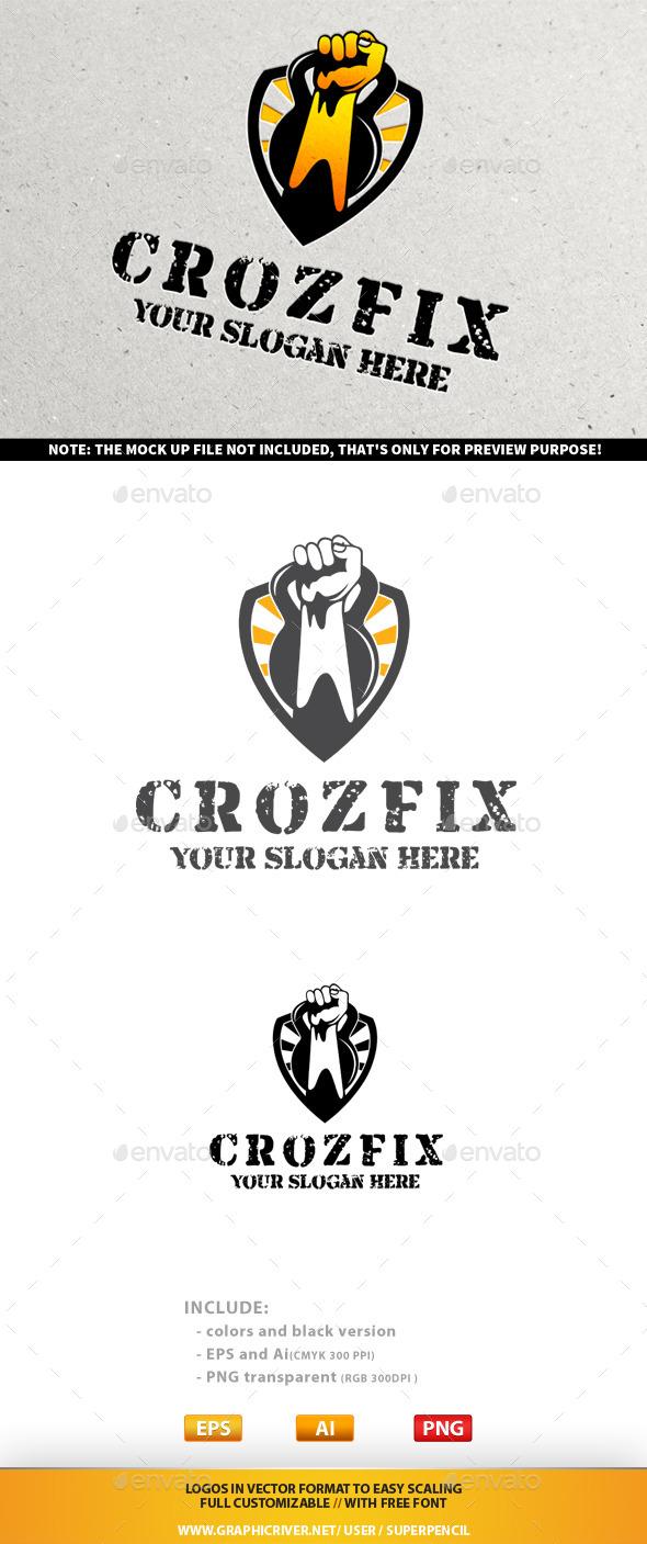 GraphicRiver CrozFix Logo 9946549