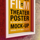 Theatre | Theater | Film | Outdoor Poster Mock-Up - GraphicRiver Item for Sale