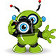 Robot with Camera - GraphicRiver Item for Sale