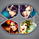 5 Style Photo Frame Template V01 - GraphicRiver Item for Sale