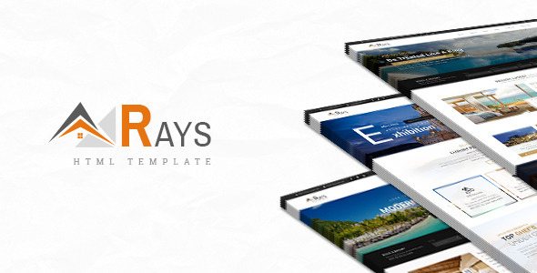 ThemeForest Rays HTML Template for Spa Resorts and Hotels 9956377
