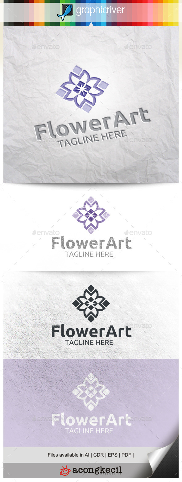 GraphicRiver Flower Art V.2 10013847