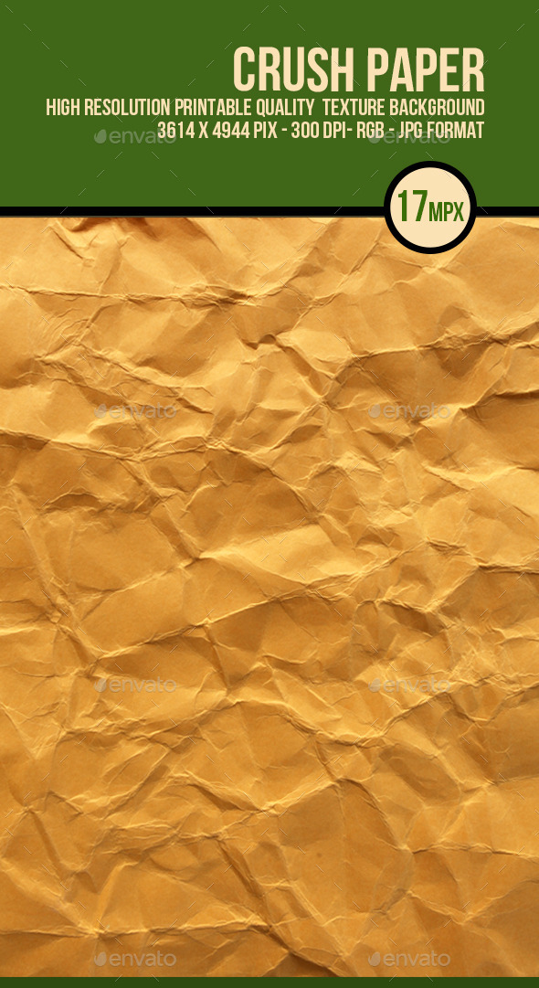 GraphicRiver Crushed Brown Paper 10013849