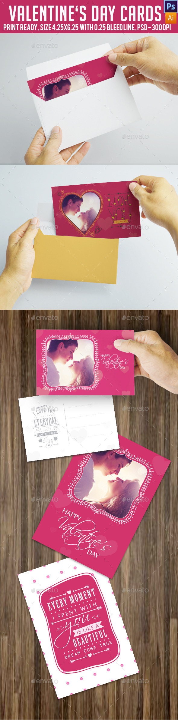 GraphicRiver Valentine s Day Card 9998116
