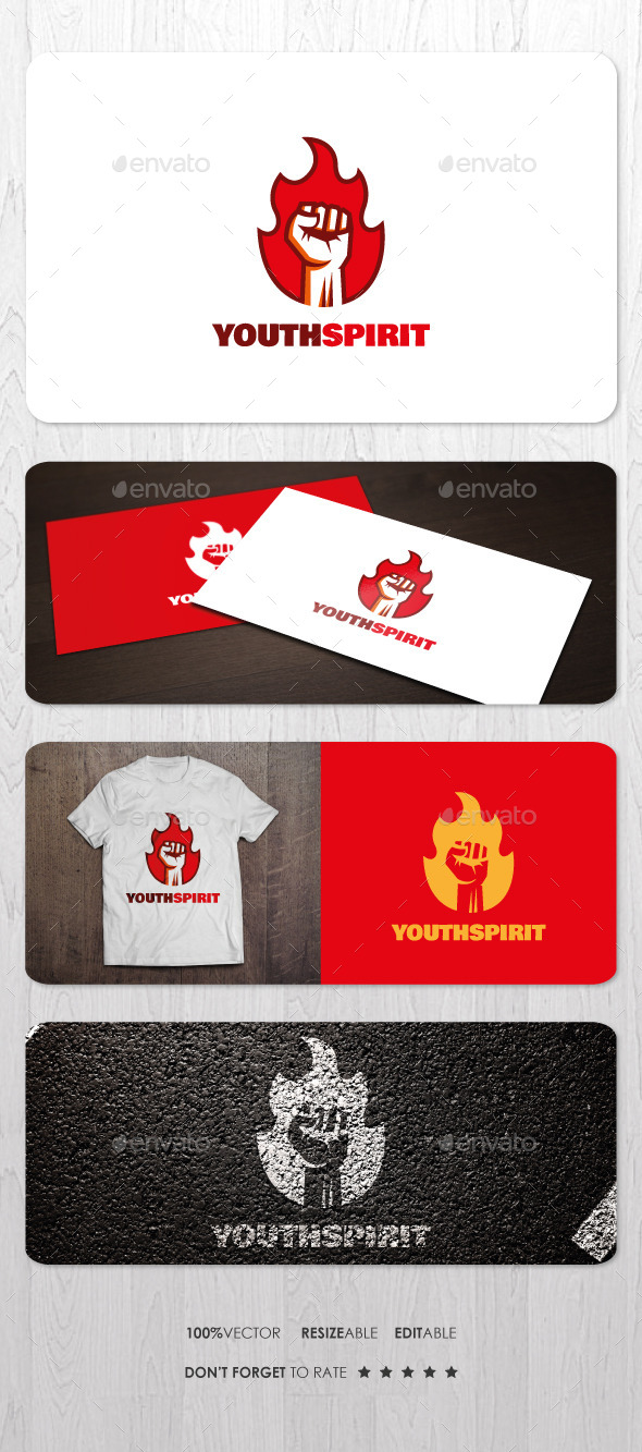 GraphicRiver Youth Spirit Logo 10014236