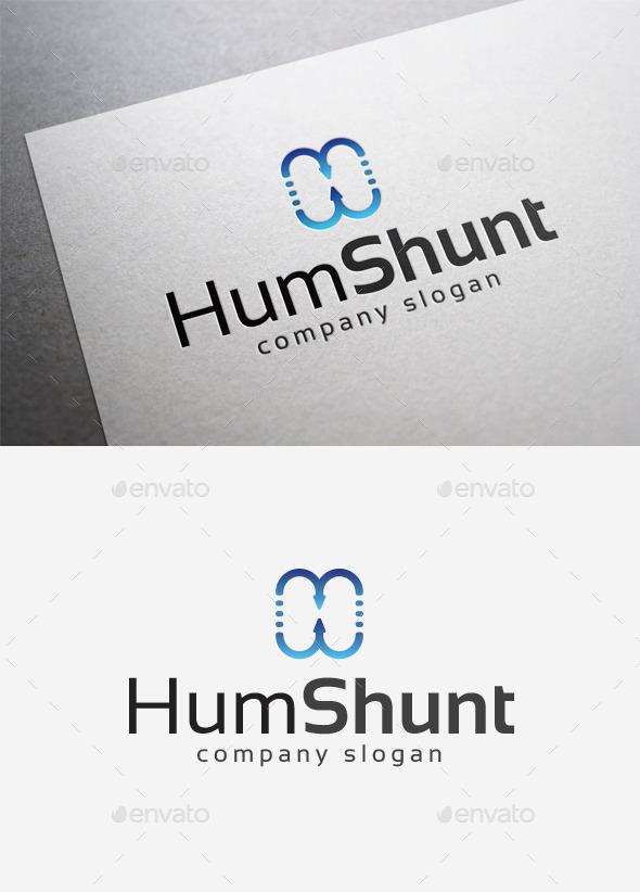 GraphicRiver Hum Shunt Logo 10014329