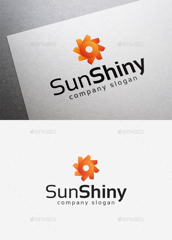 GraphicRiver Sun Shiny Logo 10014418
