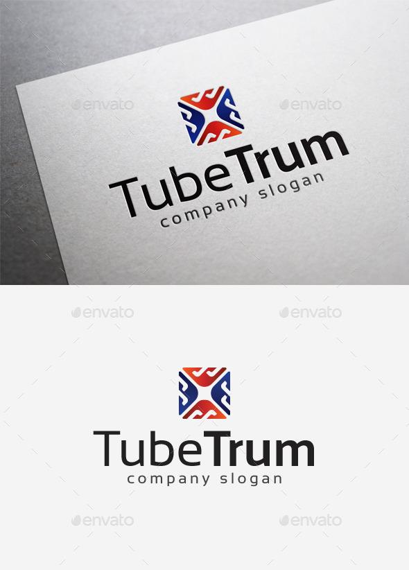 GraphicRiver Tube Trum Logo 10014442