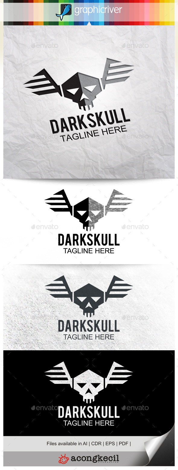 GraphicRiver Dark Skull V.2 10014689