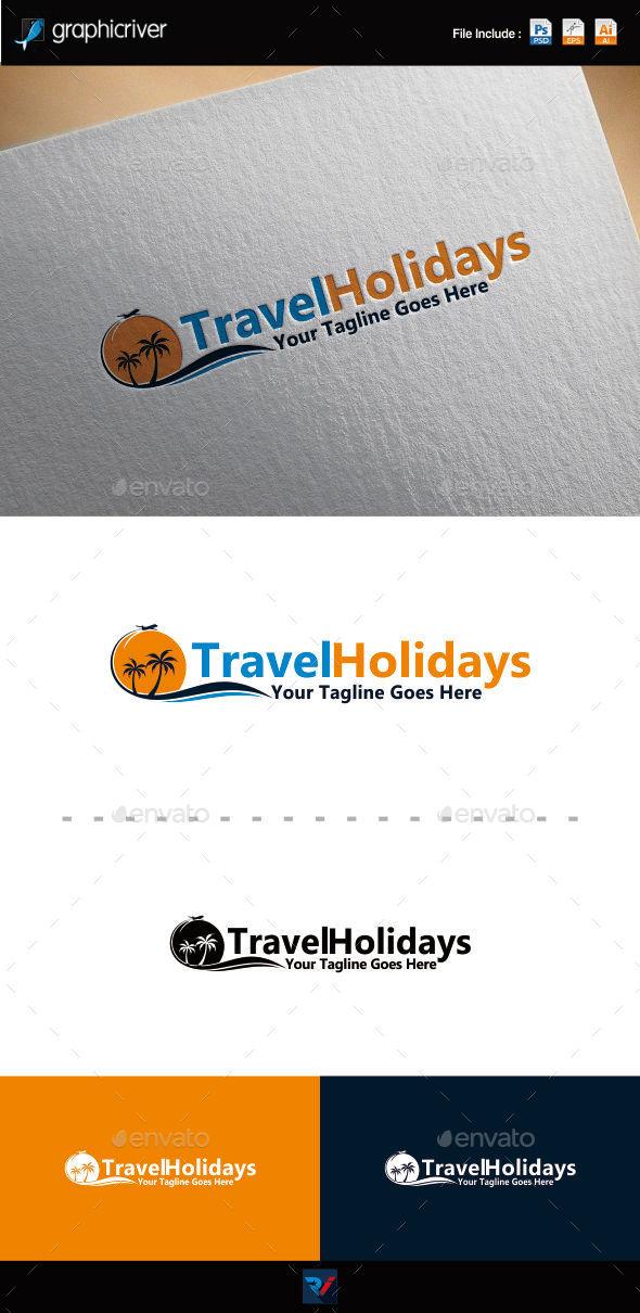 GraphicRiver Travel Holiday Logo 10014764