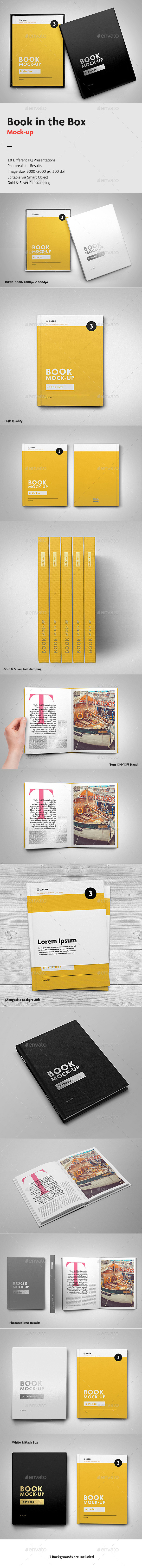 GraphicRiver Book in the Box Mock-up 10015011