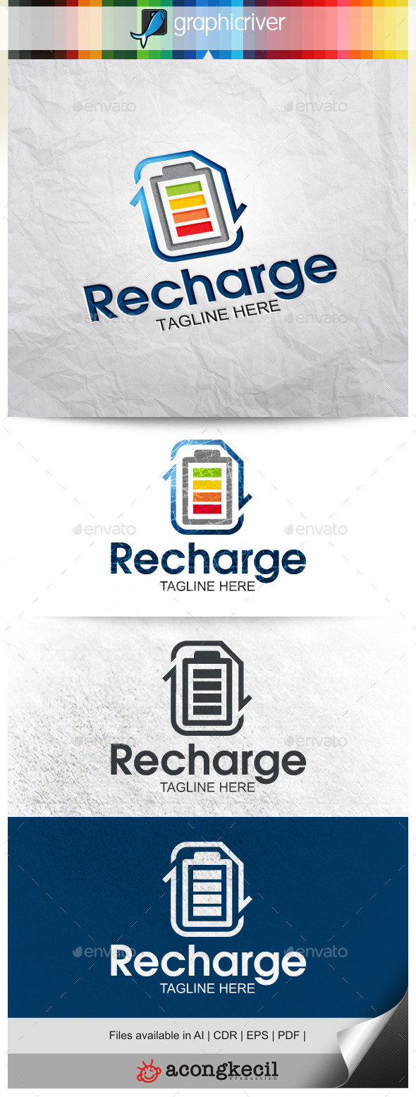 GraphicRiver Recharge 10015019