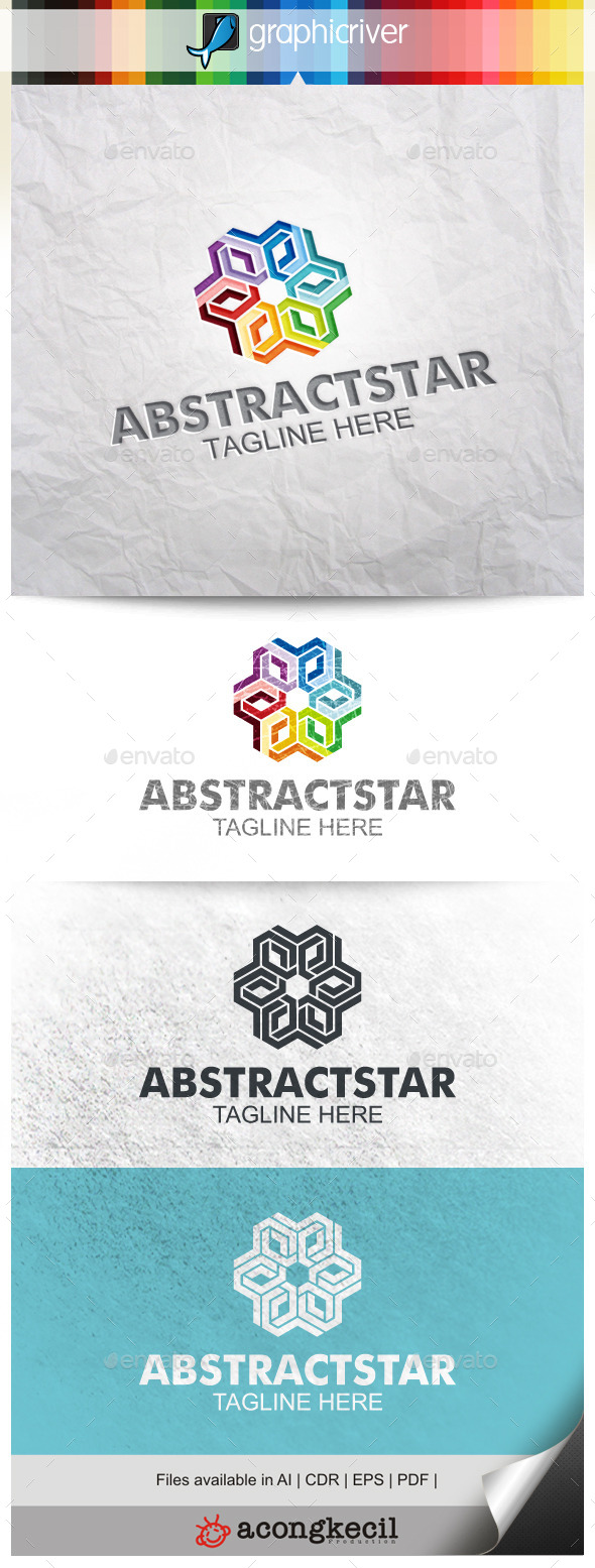 GraphicRiver Abstract Star V.3 10015063
