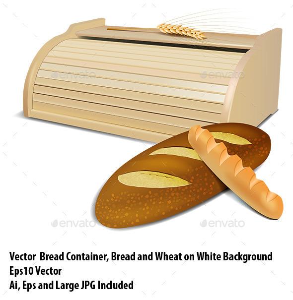 GraphicRiver Bread Container 10015153