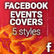 Facebook Events Covers - 5 Styles - GraphicRiver Item for Sale