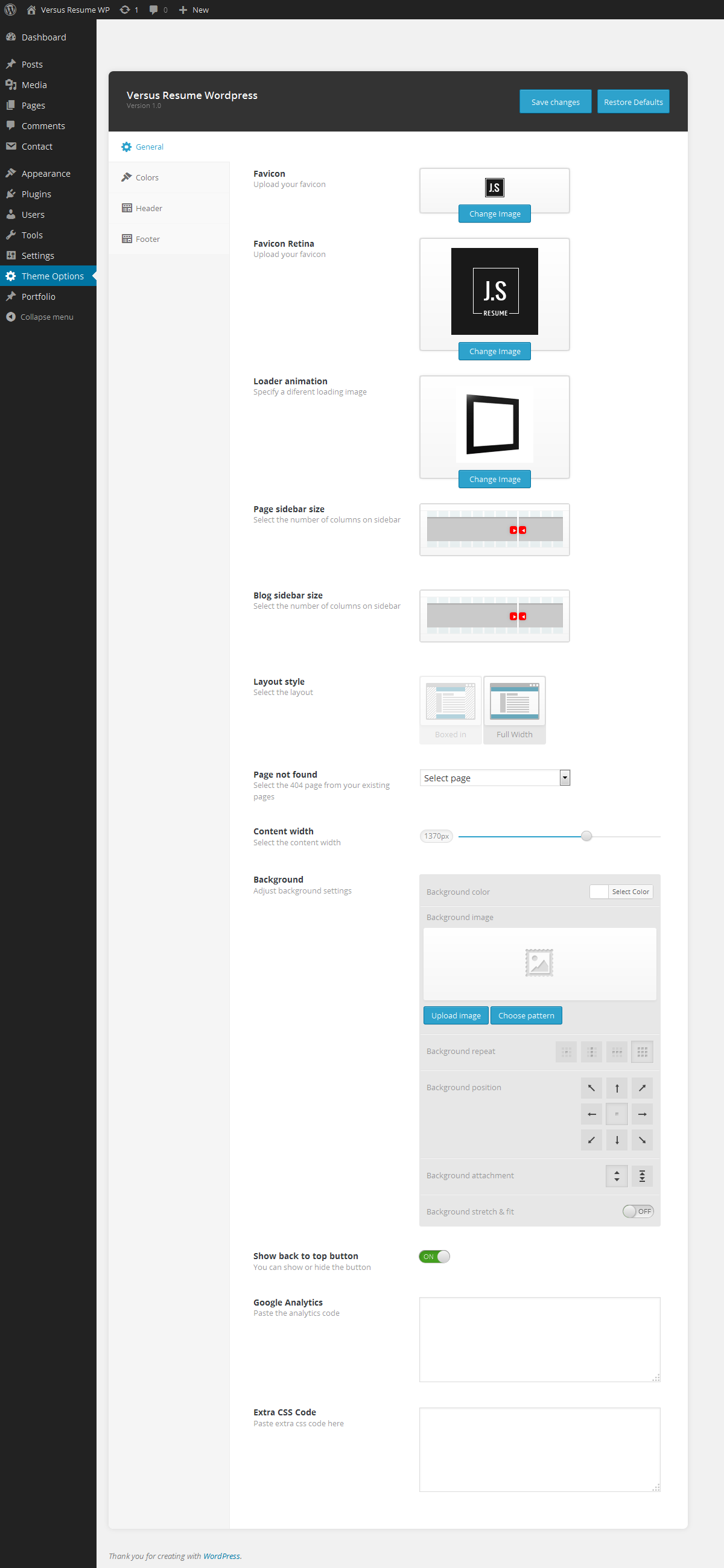 Best Versus Resume Responsive Cv Wordpress Theme Nulled Photos ...