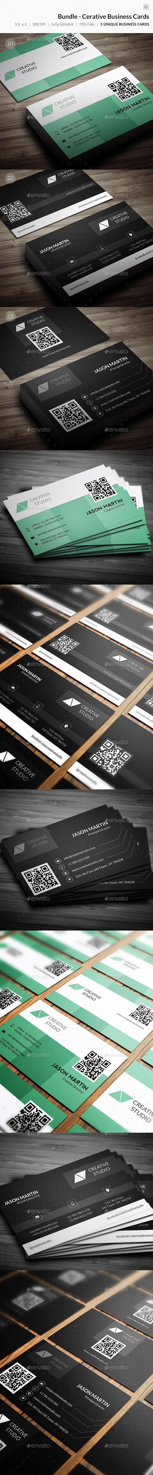 GraphicRiver Bundle Corporate Creative Business Card 63 10016783