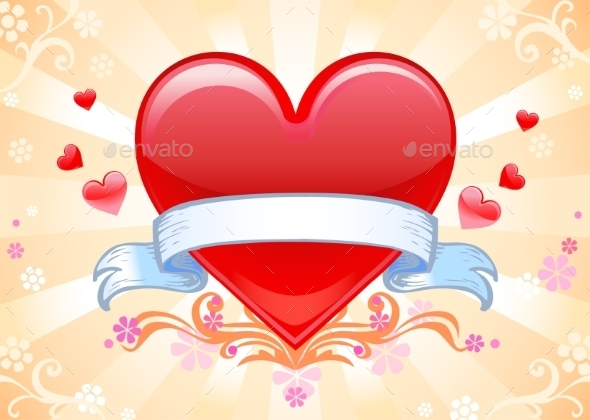 GraphicRiver Valentine Background 10017462