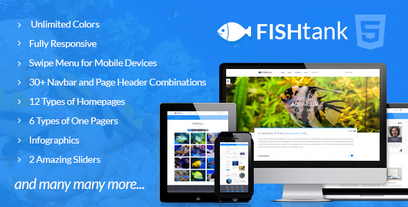 ThemeForest FishTank Creative Shop HTML Template 10017823