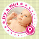 Baby Announcement Cards v2 - GraphicRiver Item for Sale