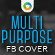 Multi Purpose Facebook Cover - GraphicRiver Item for Sale