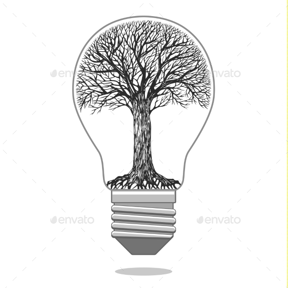 GraphicRiver Eco Bulb 10018362