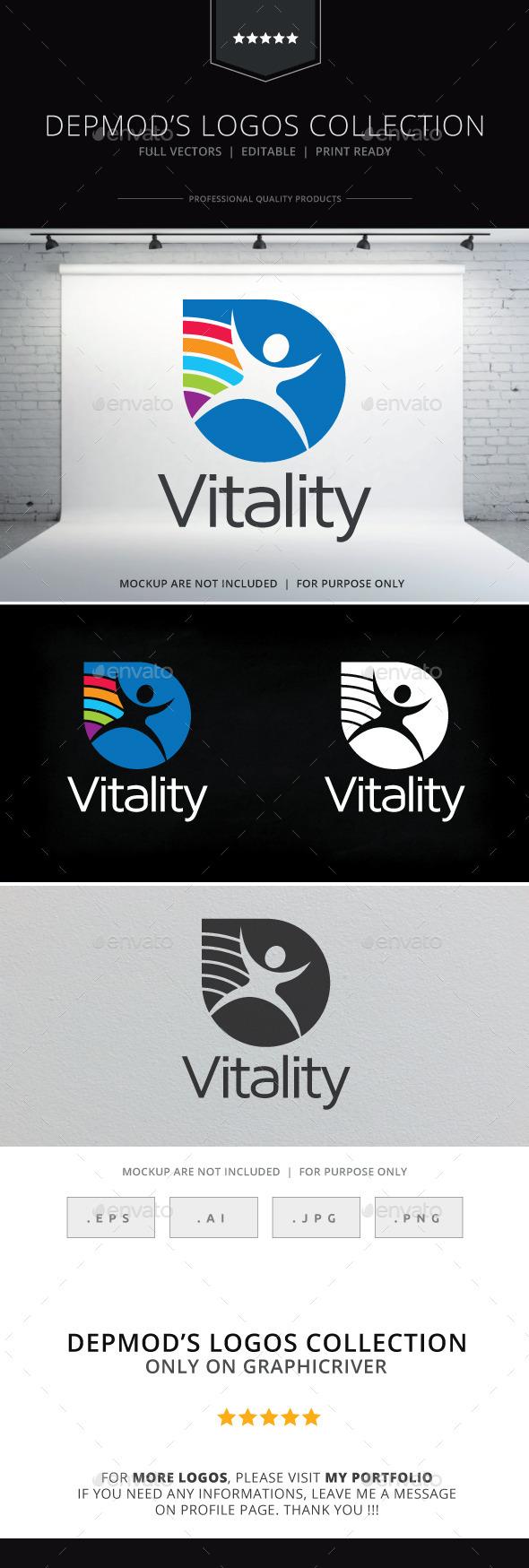 GraphicRiver Vitality Logo 10018384