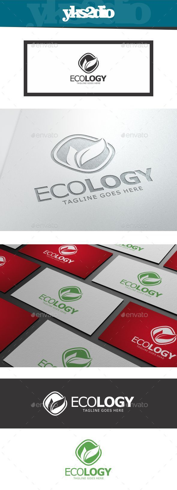 GraphicRiver Ecology V2 Logo 10018414