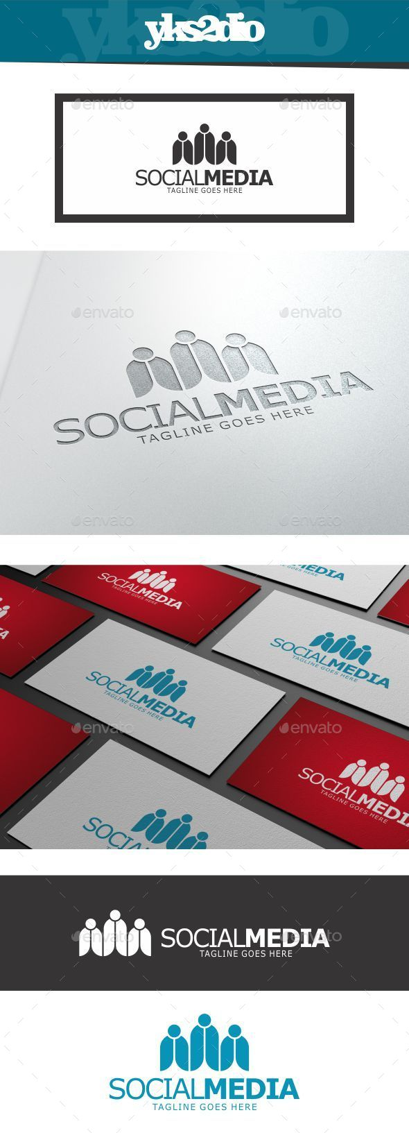 GraphicRiver Social Media Logo 10018438