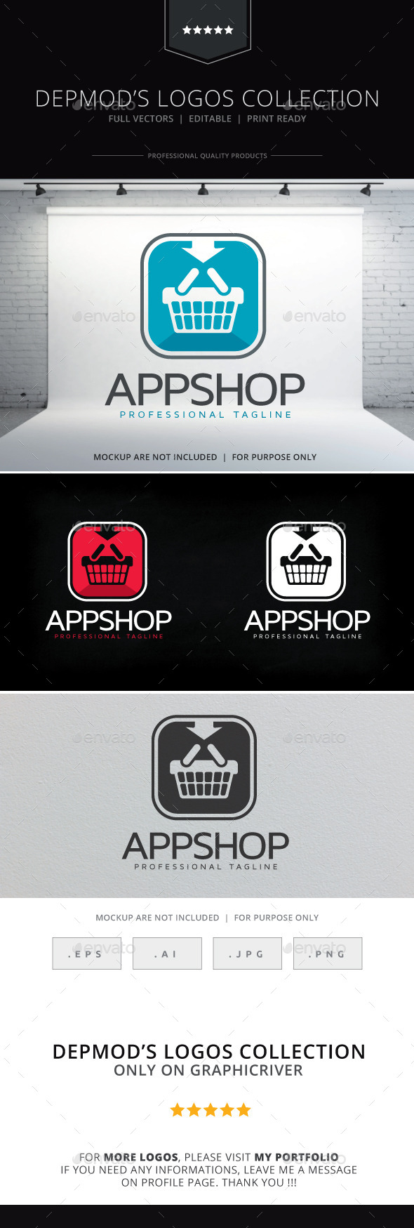 GraphicRiver App Shop Logo 10018627
