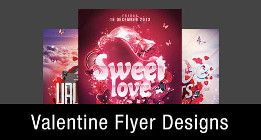 *Valentine Flyer Templates
