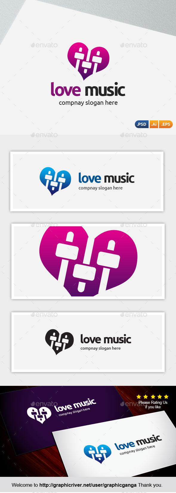 GraphicRiver Love Music 10018852