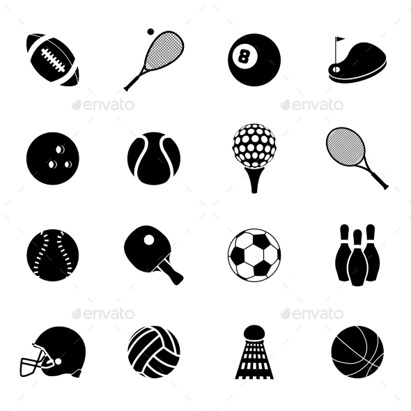 GraphicRiver Sport Icons 10019127
