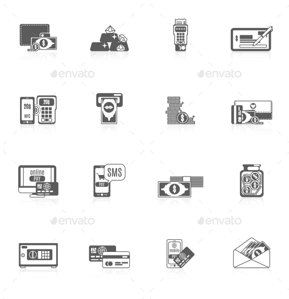 GraphicRiver Payment Icon Set 10019241