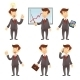 Businessman Cartoon Characters - GraphicRiver Item for Sale
