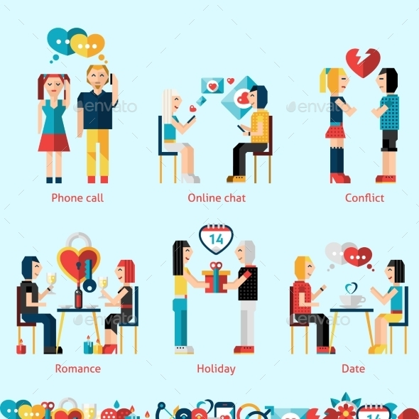 GraphicRiver Relationship Concepts Set 10019266