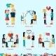 Relationship Concepts Set - GraphicRiver Item for Sale