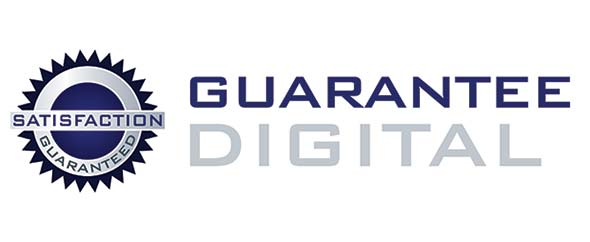 Guarantee digital logo main