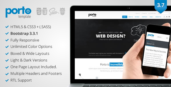 Porto - Responsive HTML5 Template - Business Corporate