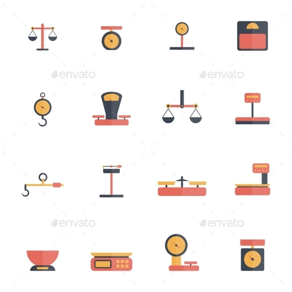 GraphicRiver Scales Icons 10020207
