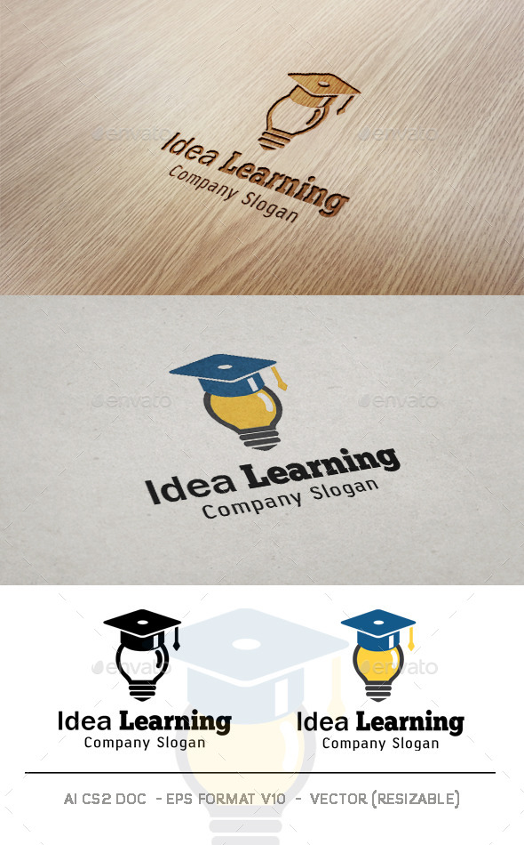 GraphicRiver Idea Learning Logo 10020231