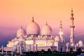 Abu Dhabi Sheikh Zayed Mosque at sunset - PhotoDune Item for Sale