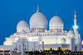 Famous Abu Dhabi Sheikh Zayed Mosque by night - PhotoDune Item for Sale
