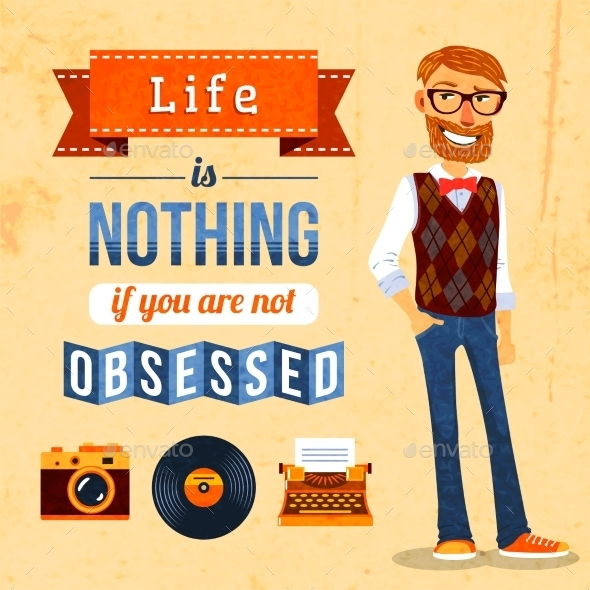 GraphicRiver Hipster Culture Poster 10020406