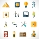 Electricity Icons Set - GraphicRiver Item for Sale