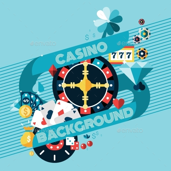 GraphicRiver Casino Gambling Background 10020599