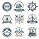 Nautical Label Black - GraphicRiver Item for Sale