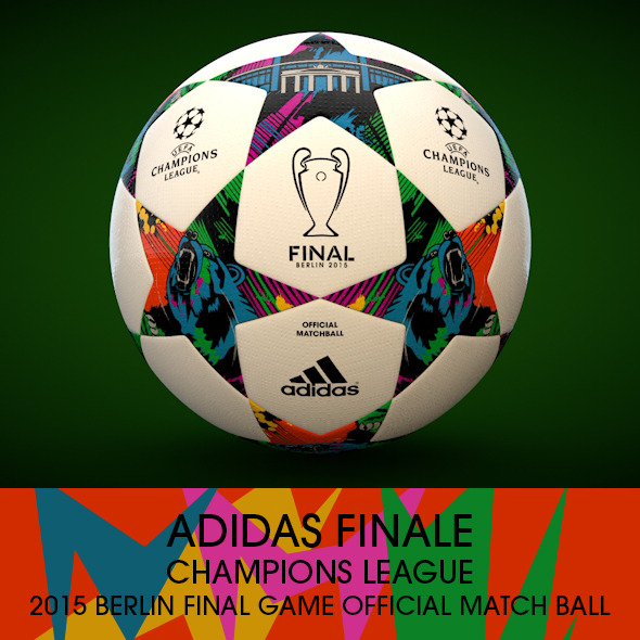 Adidas Finale Berlin 2015 - 3DOcean Item for Sale